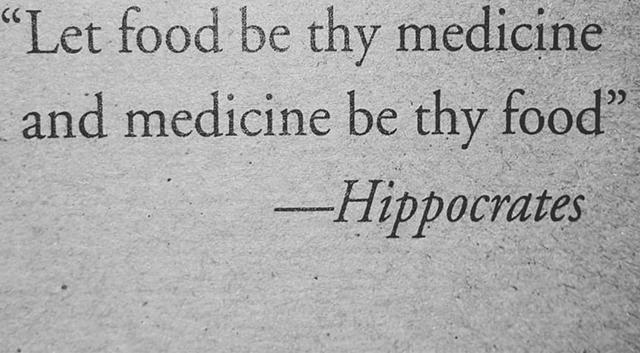 Thức ăn là thuốc